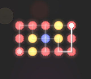 Solution, Cheats, Walkthrough for Neon Hack [Neon Dots] Level 19