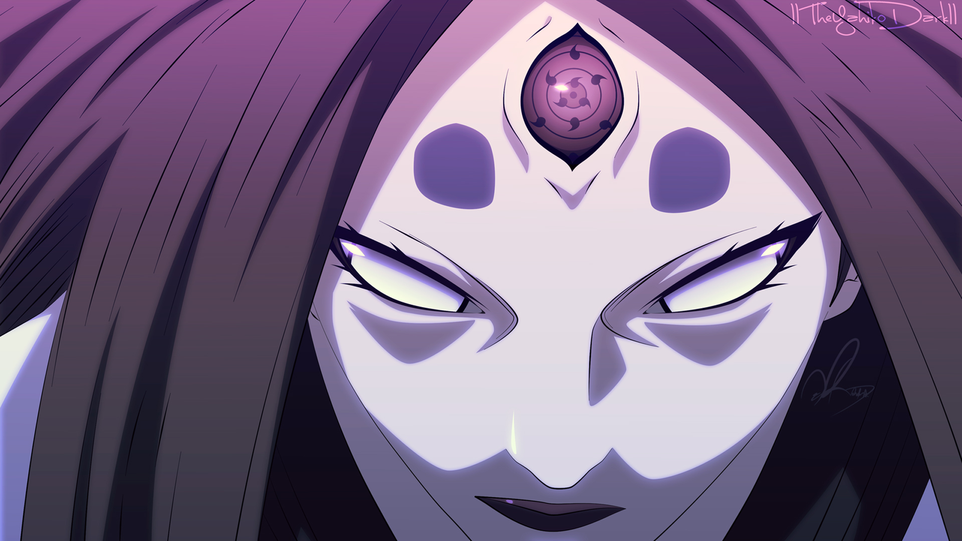 Kaguya eyes wallpaper hd - Rinnegan wallpaper hd ...