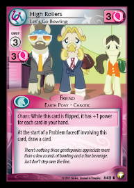 My Little Pony High Rollers, Let's go Bowling Equestrian Odysseys CCG Card