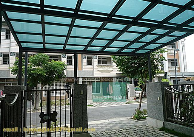 Carport Kanopi Atap Kaca
