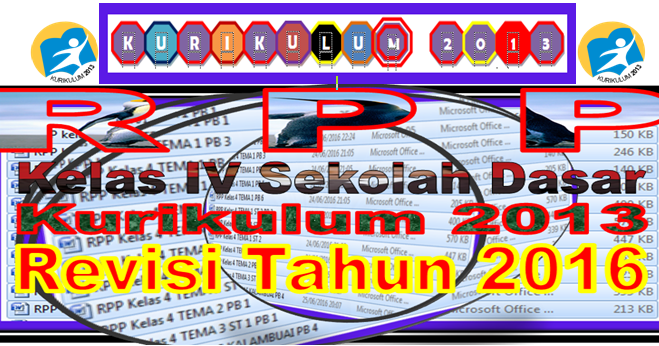 Download Rpp Kurikulum 2013 Revisi 2016 Kelas 4 Sd Sd Negeri 1 Asemrudung