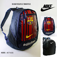 Tas sekolah bola barcelona