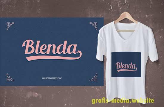 15 Font Distro Untuk Desain Baju Kaos Keren Grafis Media