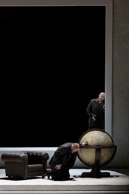 Wagner: The Ring - Semperoper, Dresden - Stephen Milling (Hagen), Albert Dohmen (Alberich) (Photo © Klaus Gigga)