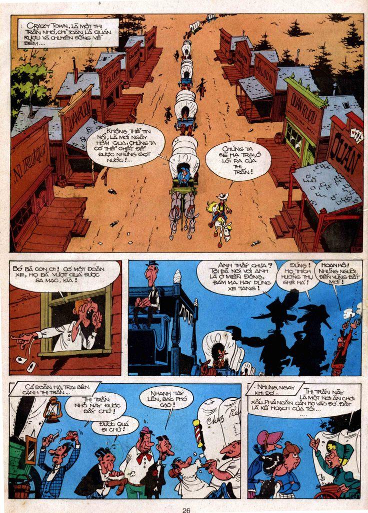Lucky Luke tap 3 - doan lu hanh trang 21