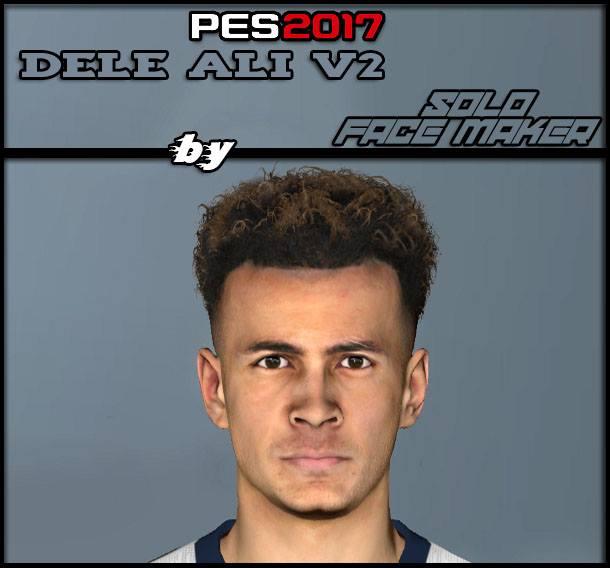 PES 2017 Dele Ali V2 face by Gamer Face Maker & Pes Editor