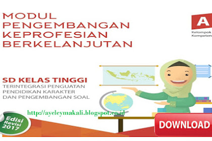 Download Modul PKB SD Kelas Tinggi Edisi Revisi