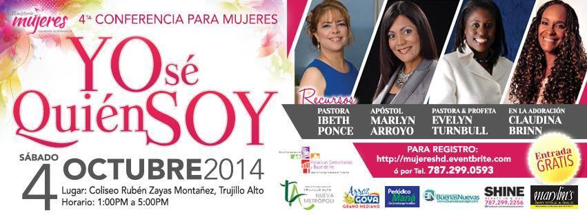 "4ta Conferencia ""Mujeres  haciendo la diferencia"""