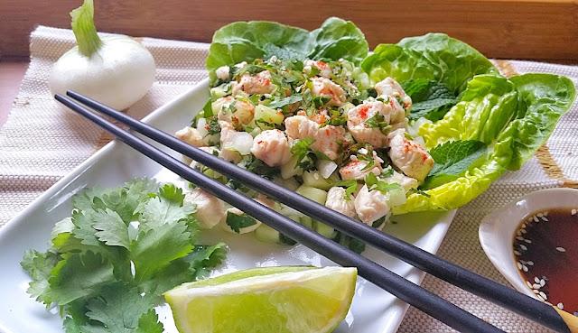 laab kai salade thailandaise