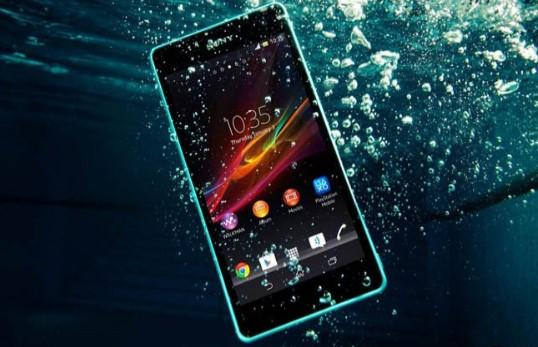 smartphone mati terkena air