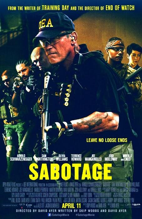 Poster pentru filmul Sabotage