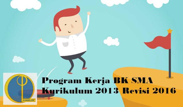 Program Kerja BK SMA Kurikulum 2013 Revisi 2016