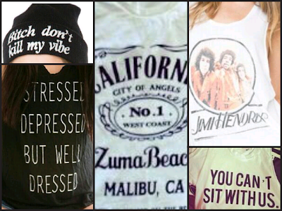 Brandy Melville clothes selection