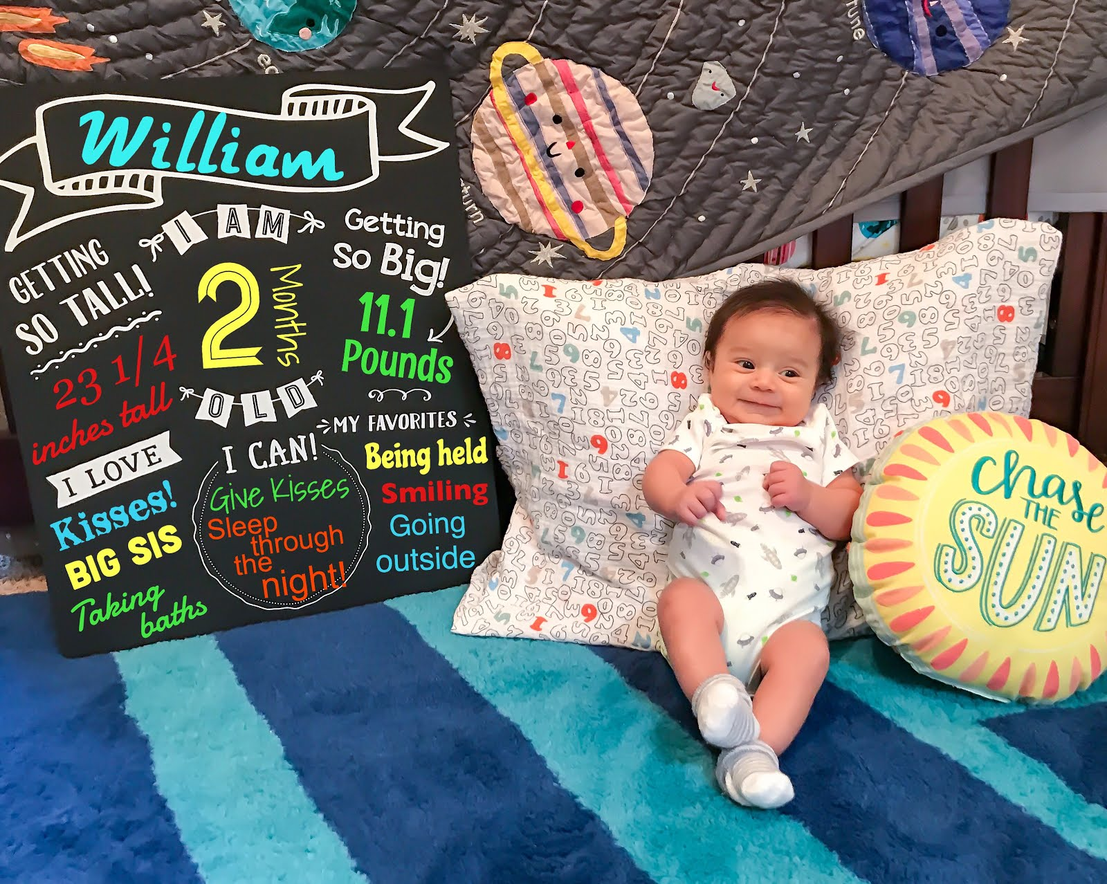 Two Months of William