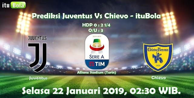 Prediksi Juventus Vs Chievo - ituBola