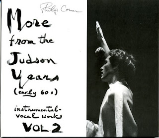 Philip Corner, More from the Judson Years (Early 60s) Instrumental-Vocal Works Vol. 2
