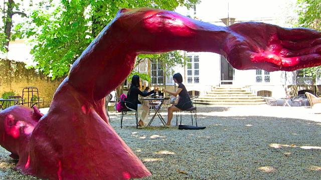 Aix-en-Provence, Hotel Particular, restaurant