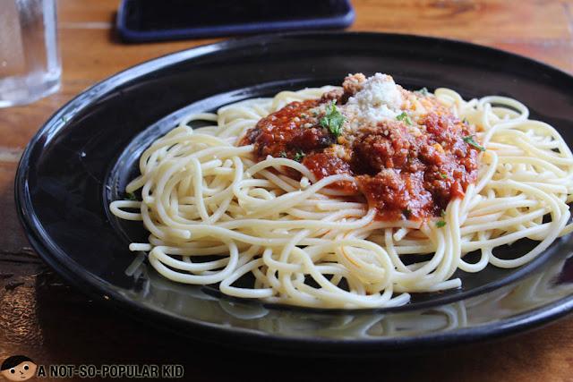 Spaghetti Bolognese of Frankie's