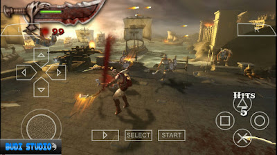God Of War: Chains Of Olympus PPSSPP High Compress psp