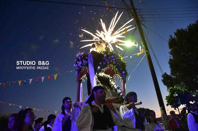 Η εορτή της Αγίας Κυριακής στο Κουτσοπόδι Αργολίδος (βίντεο)