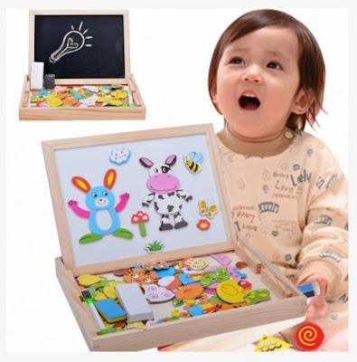 drewniane zabawki dla dziecka
