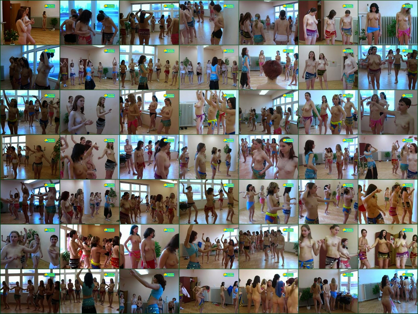 Naturist Freedom. Танец живота / Belly Dancing.