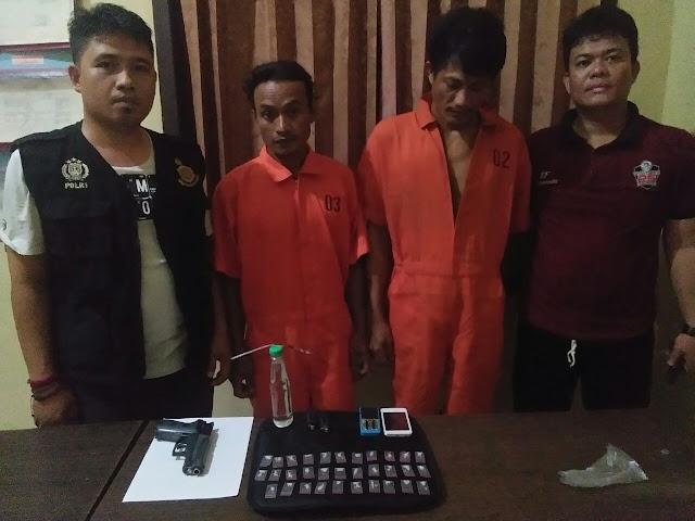 Polsek Makarti Jaya Amankan 2 Pemuda Air Salek