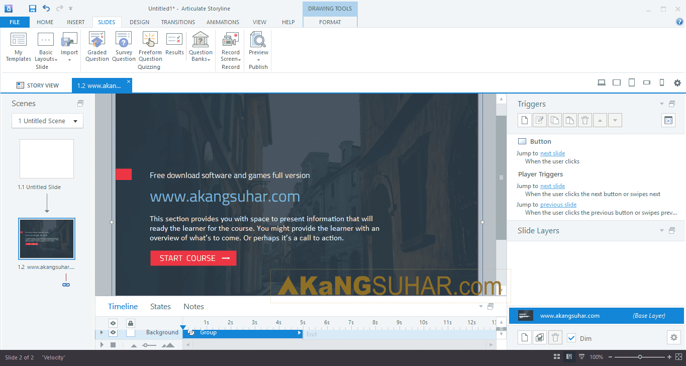 Gratis ownload Articulate Storyline Full Version Terbaru