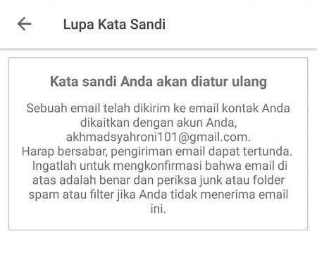 Buka Link Verifikasi di Email