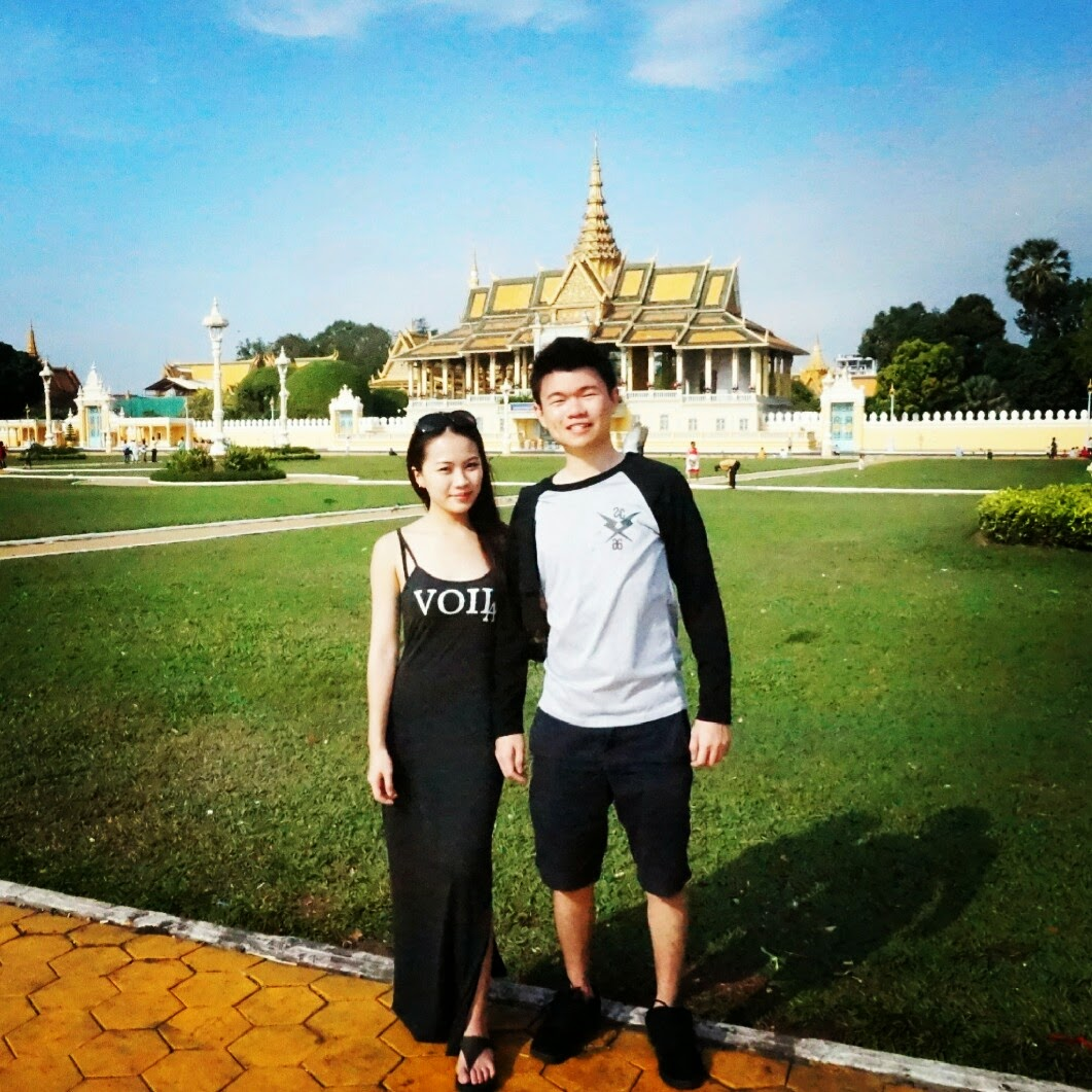 VISITED PHNOM PENH ROYAL PALACE