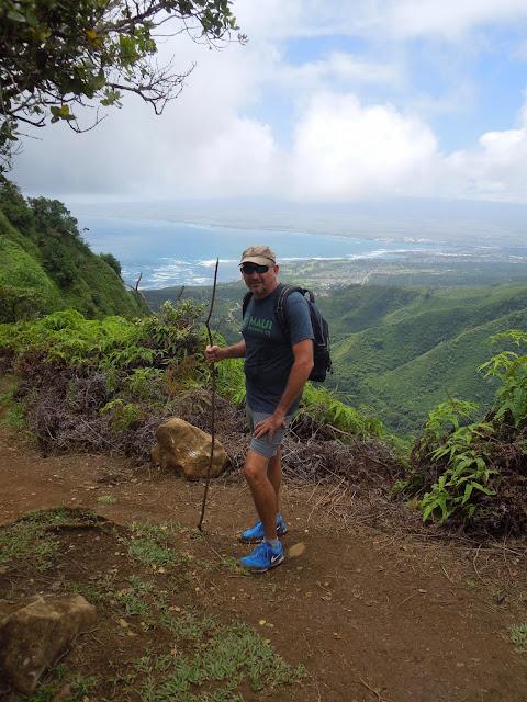 Ron hiking