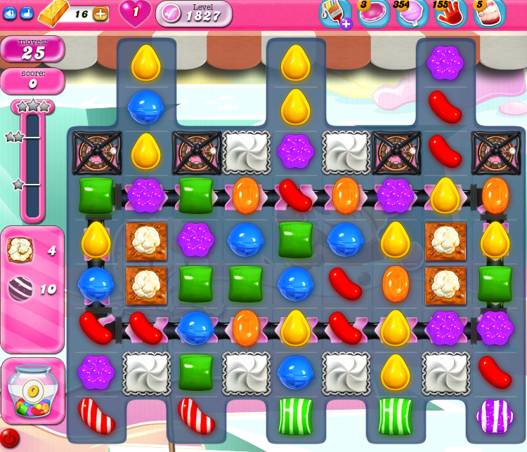 Candy Crush Saga 1827