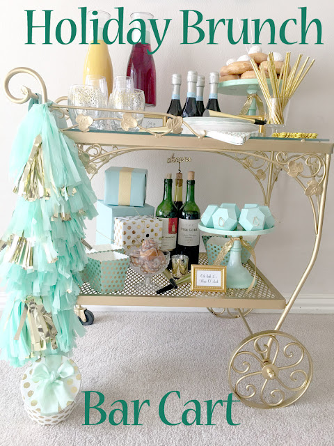 Holiday Brunch Bar Cart Party