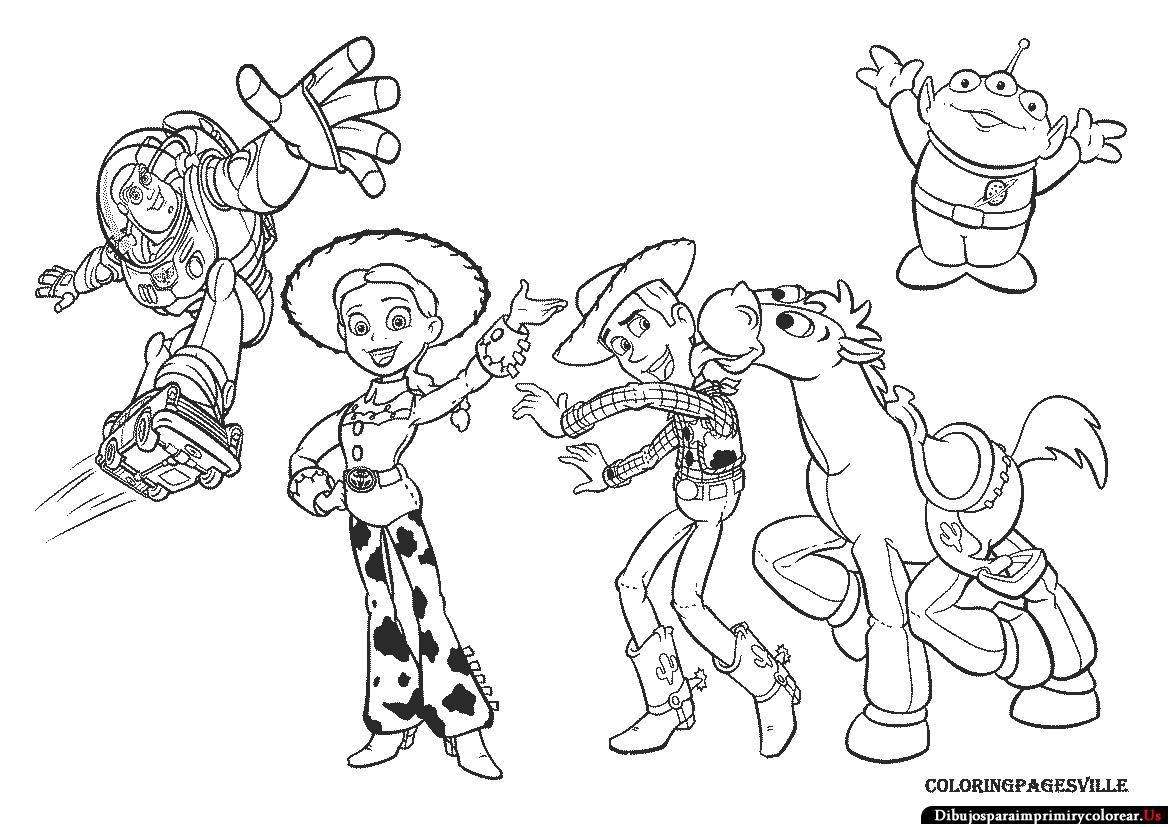 Dibujos Para Colorear De Toystory Imagui
