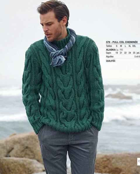 09f6847b9e60 Victoria - Handmade Creations   Πλεκτά για άνδρες