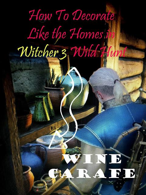 Wine Carafe Witcher 3