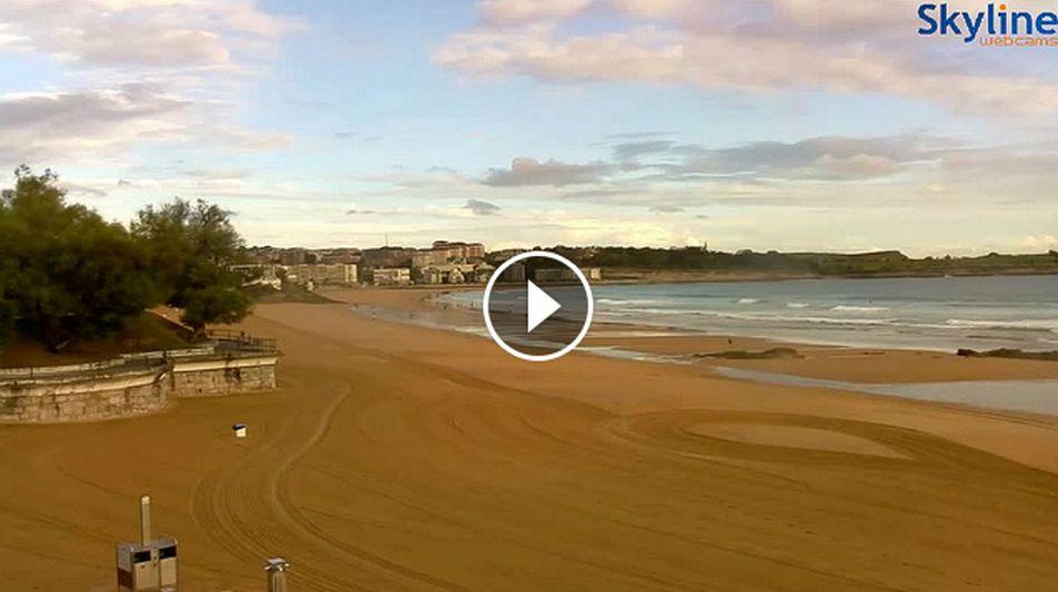 webcam el sardinero skyline