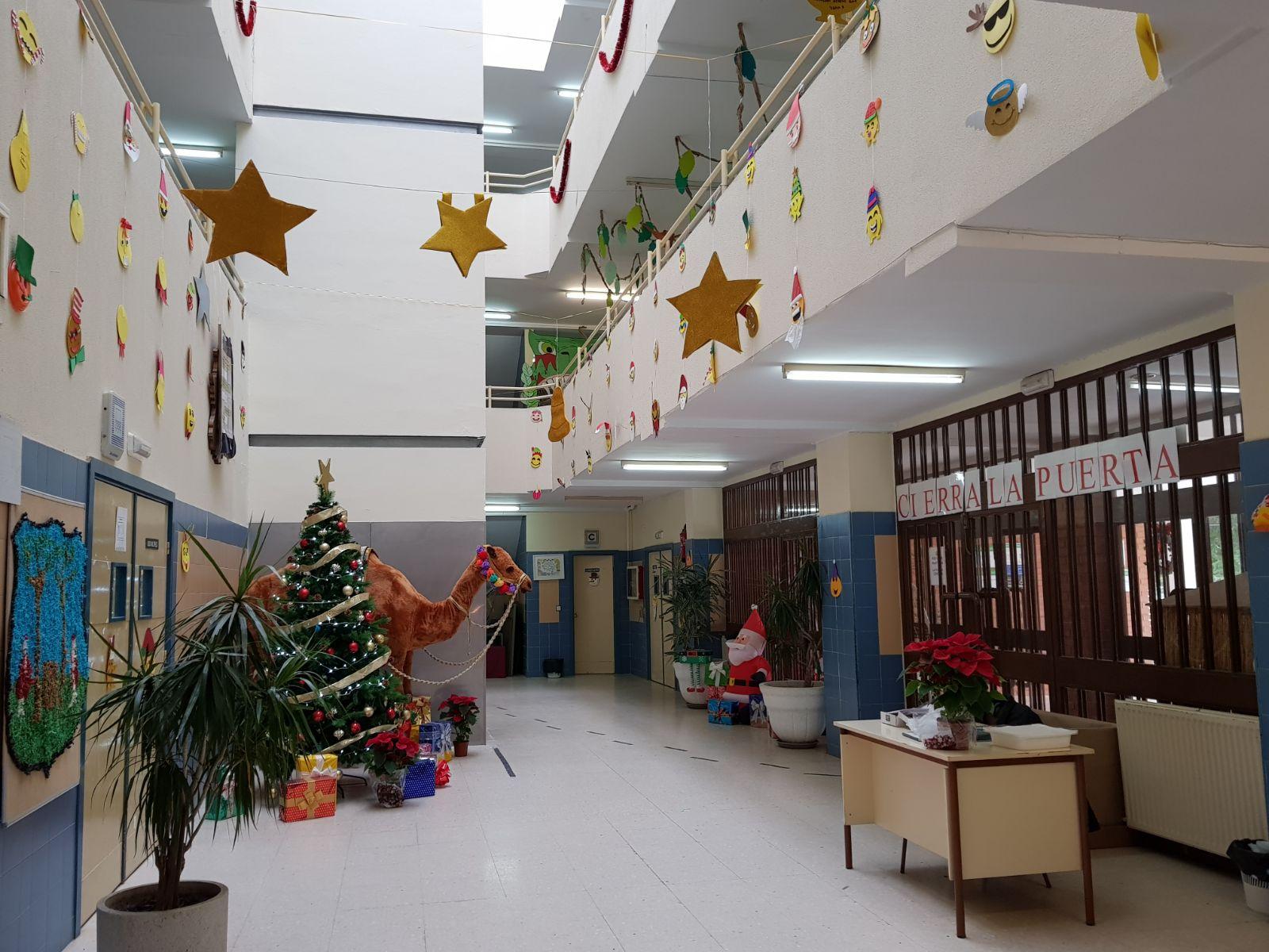Educaci n infantil ceip padre manjon decoraci n navide a - Decoracion navidena infantil ...