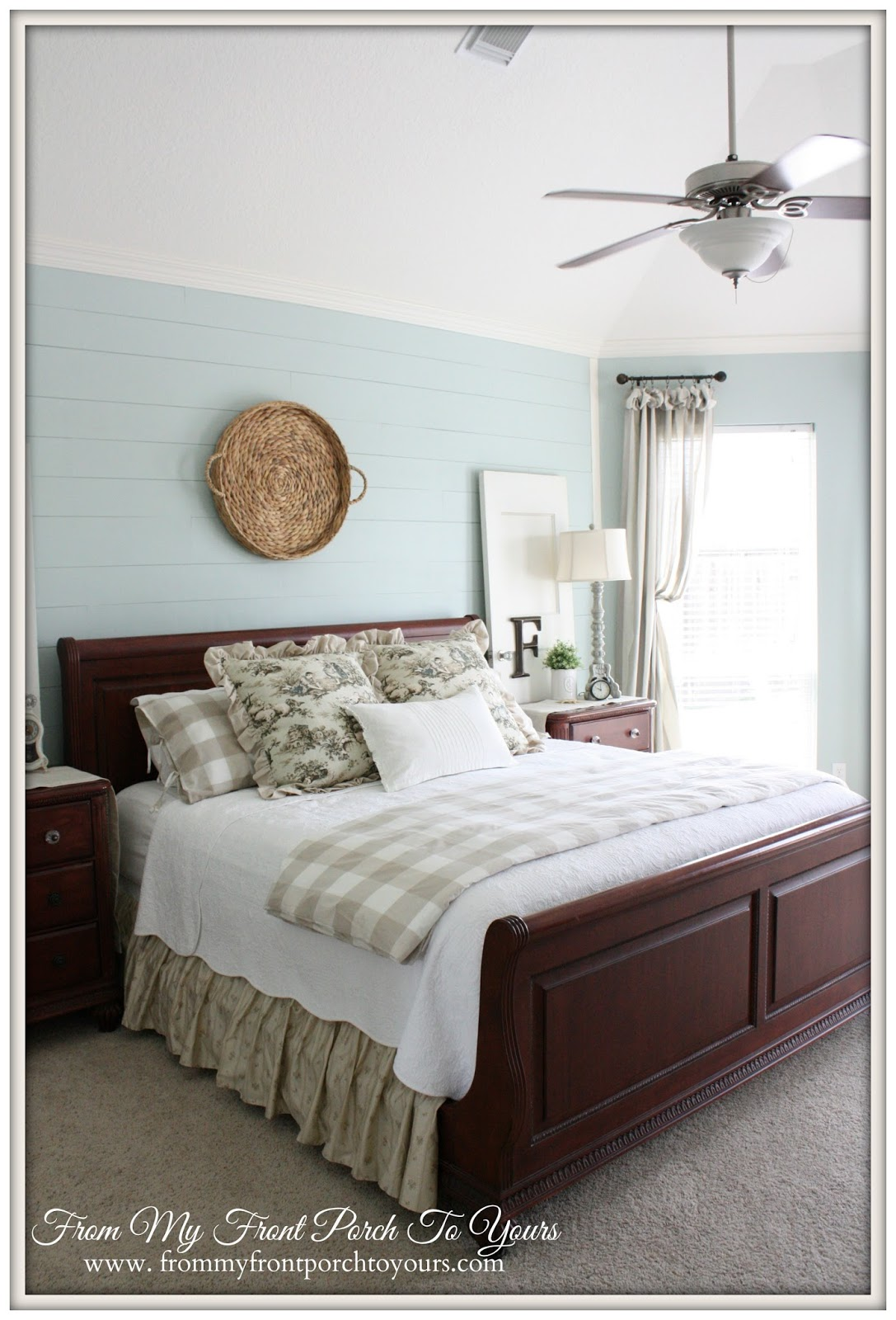 From My Front Porch To Yours- French Farmhouse Bedroom Source List