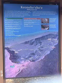 liste de balade dans le cratère du volcan