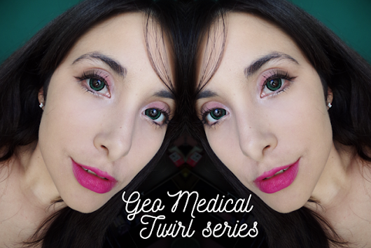 Review | GEO Twirl Color Green [LENSCIRCLE]