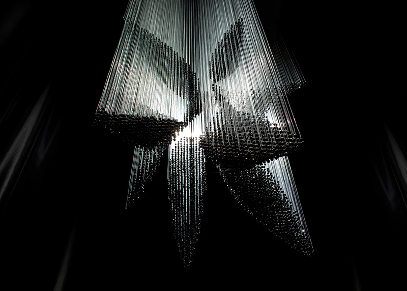 Swarm Chandelier By Zaha Hadid A Collaboration Between Elished Sons And Wonderglass