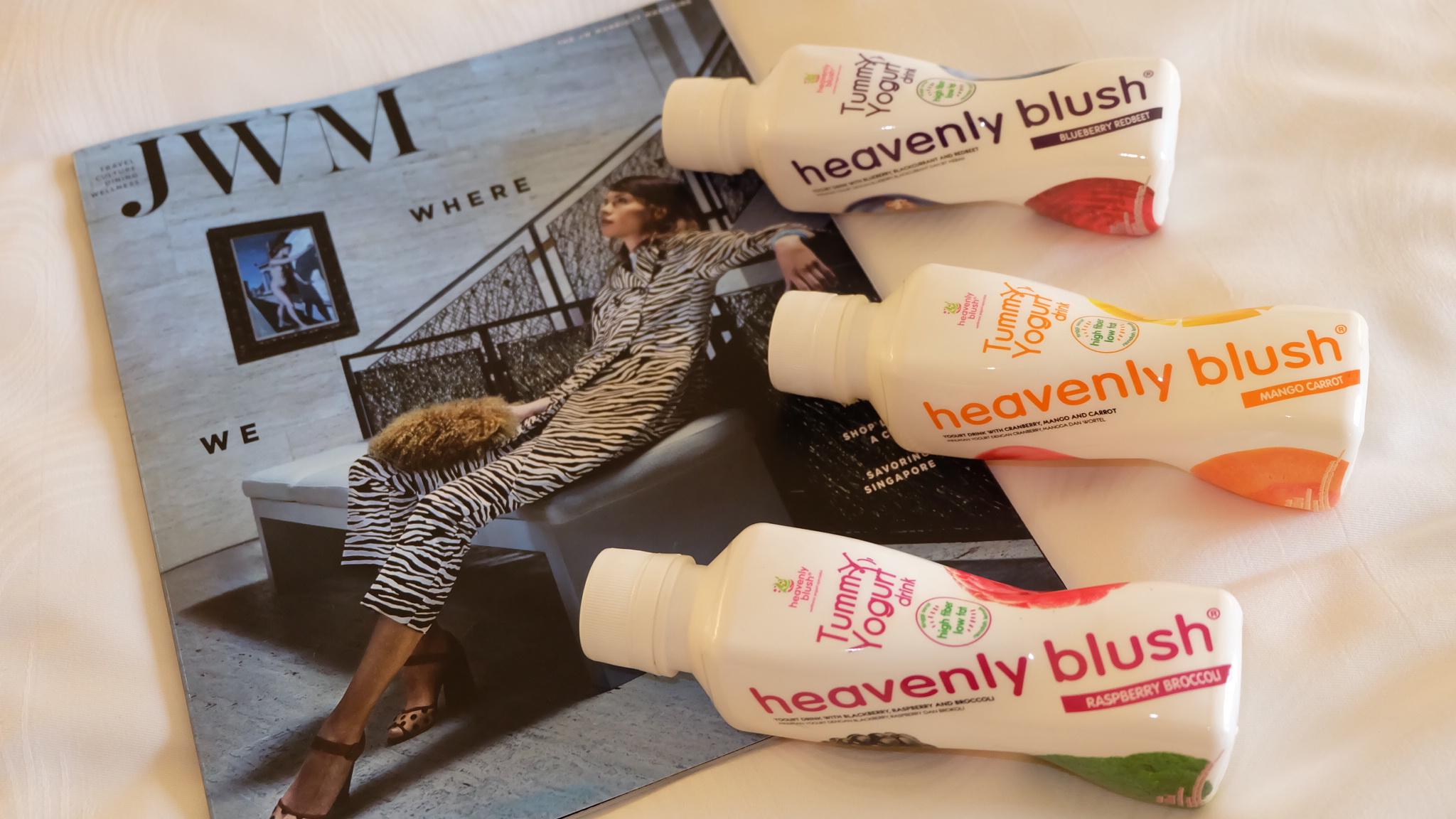 [Review] Heavenly Blush TummYogurt Drink and TummYogurt Bar