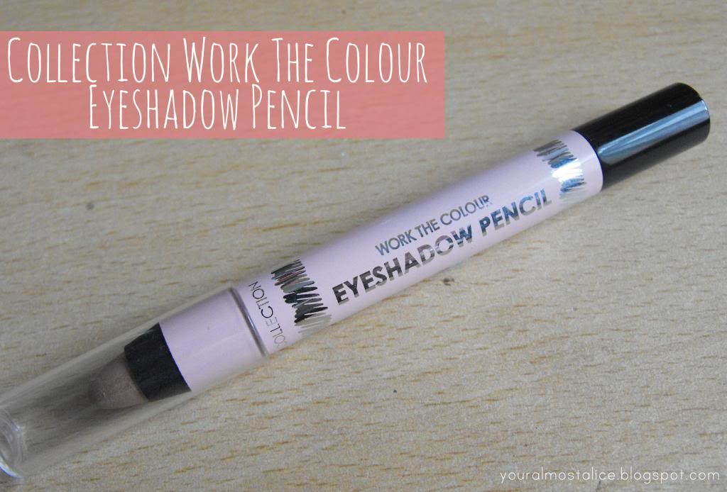 Collection Work The Colour Eyeshadow Pencil in Vintage Blush