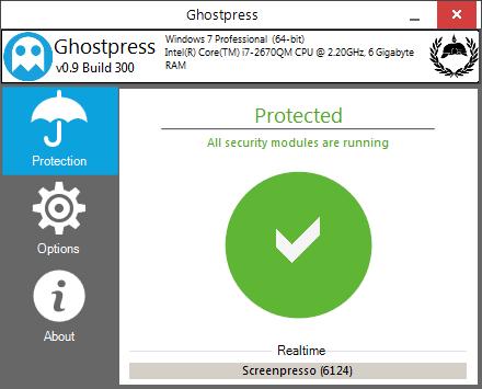 برنامج Ghostpress للحماية من الإختراق عبر برامج الكيلوجر