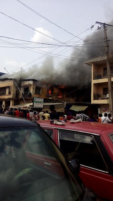 FIRE OUTBURST IN ENUGU