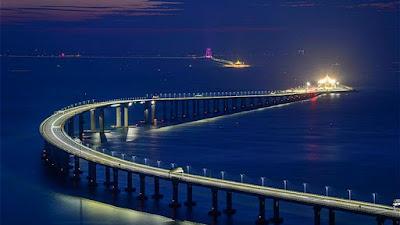 สะพานฮ่องกง-จู่ไห่-มาเก๊า (Hong Kong-Zhuhai-Macao Bridge: HZMB) @ www.easytourchina.com