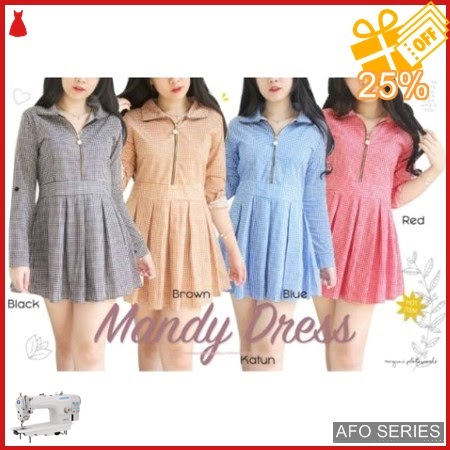 AFO448 Model Fashion Dress Mandy Modis Murah BMGShop