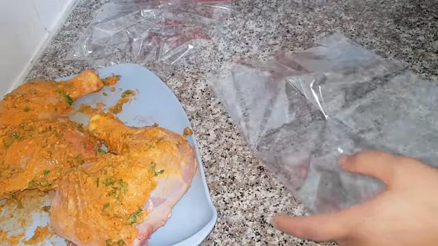 طريقة تحظير دجاج محمر و مجمر - مطبخ ام وليد Oum Walid