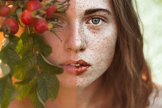 Обработка и цветокоррекция портрета в Фотошопе